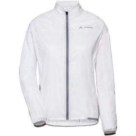 VAUDE Air III Jas Dames, white uni